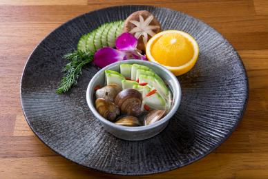 蛤蠣絲瓜盅-台中公益路燒烤吃到飽推薦